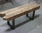 Custom Beam Bench Table