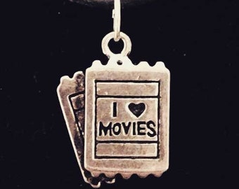 Cute necklace for moviegoers and film lovers