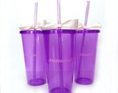 4 Bridesmaids Tumblers | Bridesmaids Gifts -or- Will you be my bridesmaid? | Choose your color!