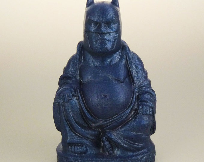Batman Buddha (Blue Metal Flake)
