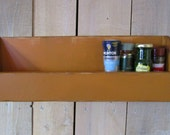 Primitive Shelf, Multi-Use, English Mustard