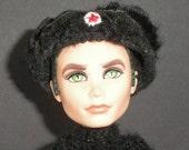 Black Ushanka Hat For Fashion Dolls