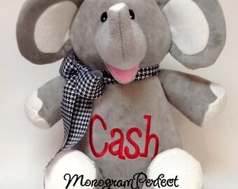 """Personalized 16"""" Plush Elephant Stuffed Animal"""
