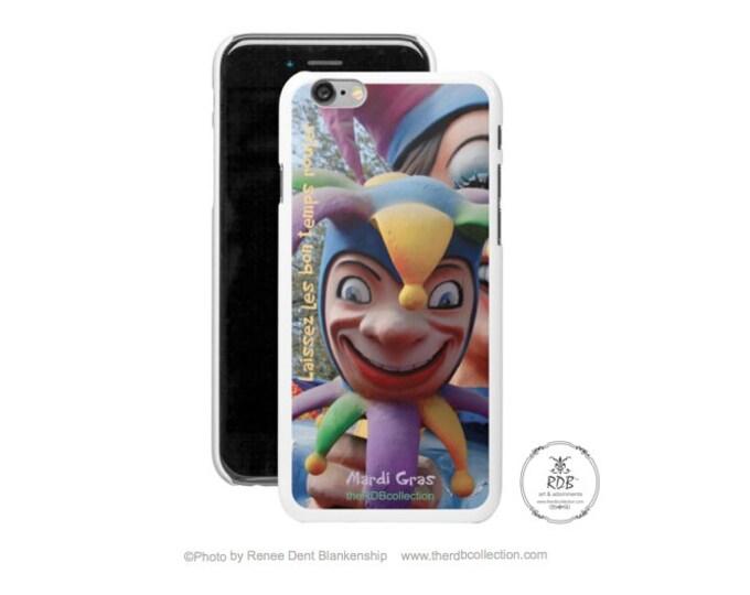 Jester iPhone Case - Mardi Gras Phone Case - Laissez Les Bon Temps Rouler - iPhone Case -Samsung Case - Smartphone - theRDBcollection