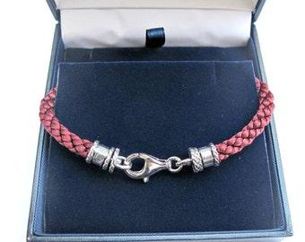 Kabbalah Red pure silk and silver bracelet  dainty bracelet  traditional authentic , Jewish bracelet  handmade,