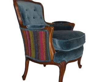 Upholstered Velvet Chair