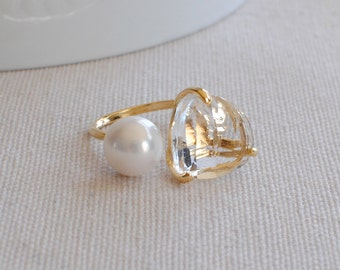 The Talia Ring - Crystal