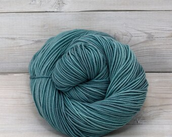 Aspen Sport - Hand Dyed Superwash Merino Wool Sport Yarn - Colorway: Harbor