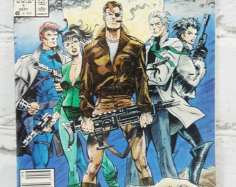 Nick Fury. Agent of Shield. Marvel Comic Book. Volume 2. Number 1. September 1989. The Eye Patch is His Favorite Accessory.