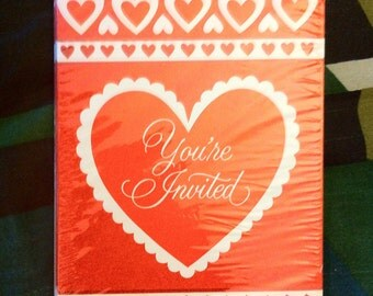 Set of 8 Valentine's Cards