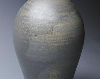 Clay Vase Bottle Wood Fired K59