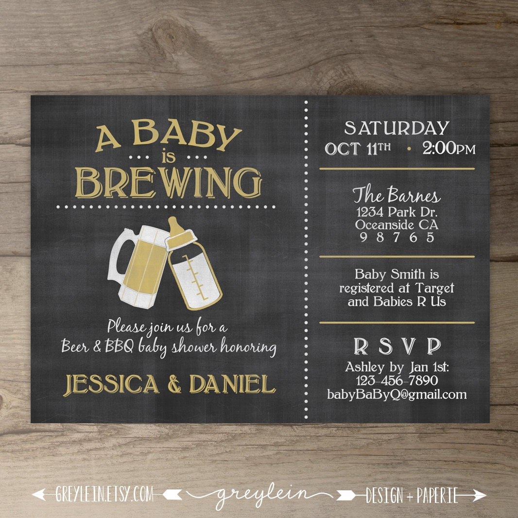 Diaper And Beer Party Invitations is nice invitations example