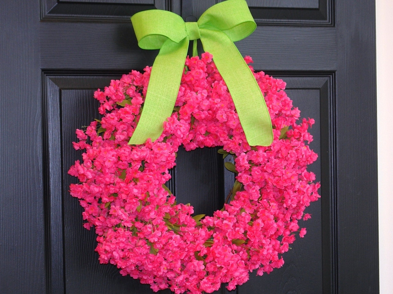 Spring Wreath Front Door Wreaths Easter Wreath Front By