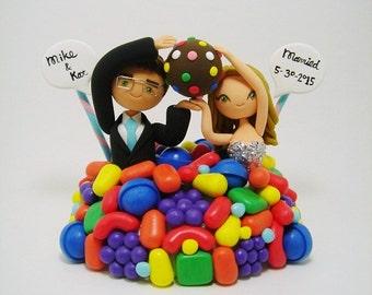 Divine Adventure Wedding cake topper