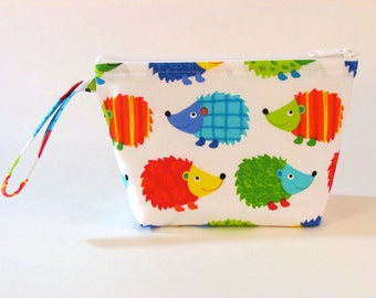 Hedgehog Make Up Bag - Accessory - Cosmetic Bag