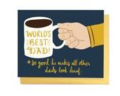 Coffee Dad Card