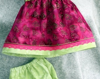 Set of clothes for dolls 15 inches