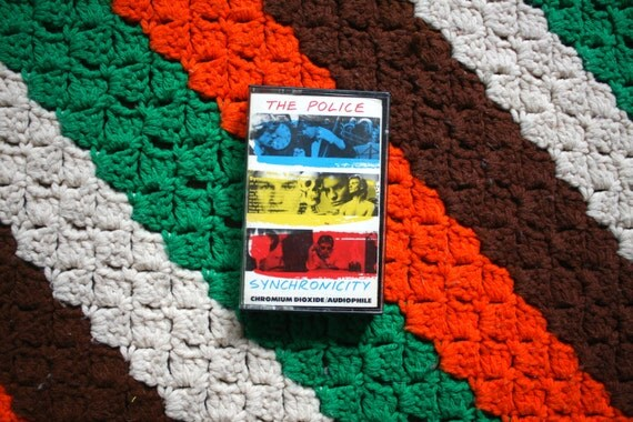 The Police Synchronicity Cassette Tape Vintage 1980s Rock