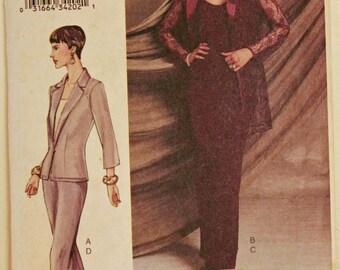 """Jacket, Camisole, Skirt & Pants - 2000's -  Vogue  Pattern 7520 Uncut  Sizes  12-14-16  Bust 34-36-38"""""""