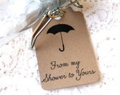 Bridal Shower Tags, My Shower to Yours, Wedding Favor Tag, Wedding Favors, Bridal Shower Tag, Bridal Shower Favor, Baby Shower
