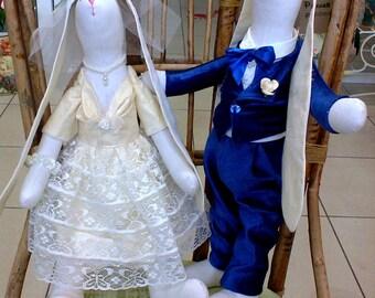 Wedding hares tilde.