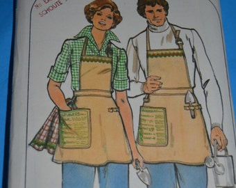 Butterick 3989 Gardening APRON Pattern by Robert L. Green Sewing Pattern - UNCUT - One Size