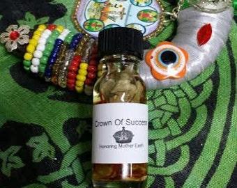 Crown Of Success Oil, Voodoo, Hoodoo, Conjure,Anointing, Ritual, Candle ,Pagan, Hoodoo,