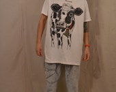 Hilarious Vintage 1993 Minnesota Cow T-Shirt / Oversized