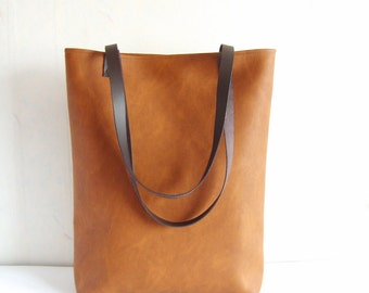 Large leather tote bags for work