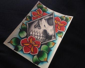 RESTARTER Watercolor Print