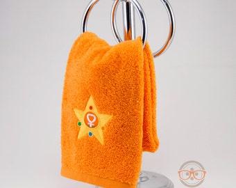 "Sailor Moon ""Sailor Venus"" Inspired - Embroidered Hand Towel"