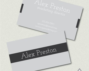 Simple business card | Etsy