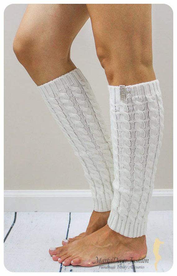 Handmade Women Knitted Fashion Leg Warmers By ...