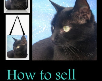 Booklet demonstrating how to sell photography on the internet in simple terms - approx 40 pages