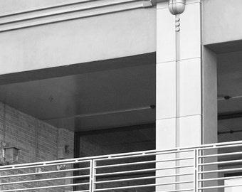 Art Deco Architectural Detail - Ashville, NC - Photo Print