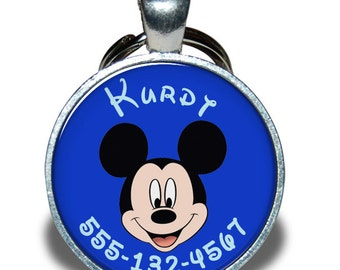 Pet ID Tag - Mickey Mouse *Inspired*