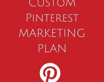 Custom PINTEREST MARKETING Plan- Social Media Marketing Plans