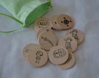 Pirate Treasure Memory Game