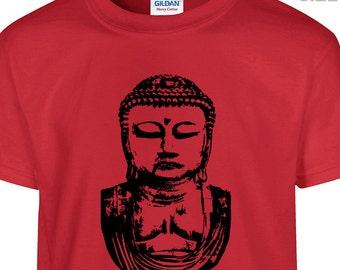 YOUTH / KIDS Buddha T Shirt Cool Buddha Kids Shirt Namaste Kids Yoga Shirt Youth Buddha Shirt