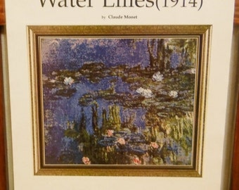 WATER LILIES (1914) Cross Stitch Pattern 47 by Fine Arts Heritage - Claude Monet