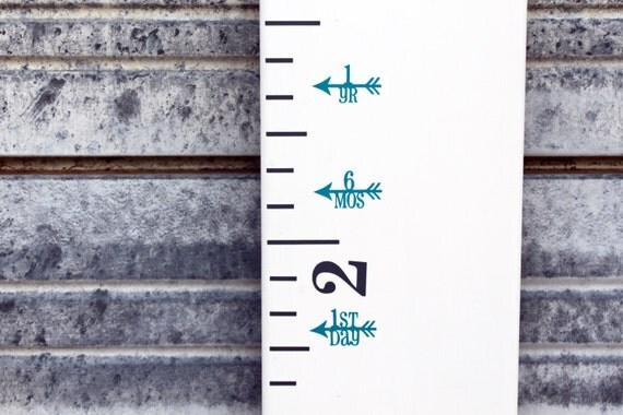 SALE Off Height Marker For Growth Chart Ruler Vinyl - Ruler growth chart vinyl decal
