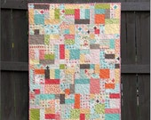 Scrappy Tiles a Digital pdf Quilt Pattern - Layer Cake and Scrap Friendly - Baby and Lap Sizes