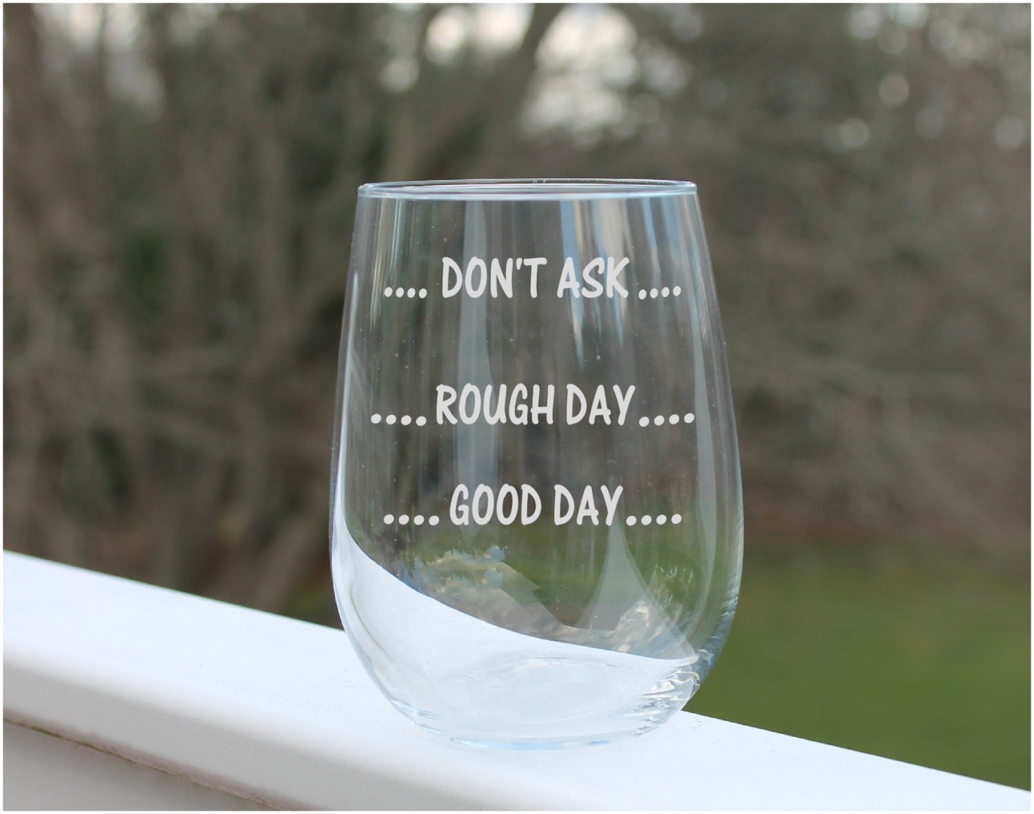 zoom - Etched Wine Glasses