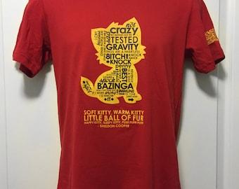 Clearance - Big Bang Theory tshirt
