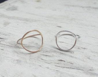 Delicate Circle Ring