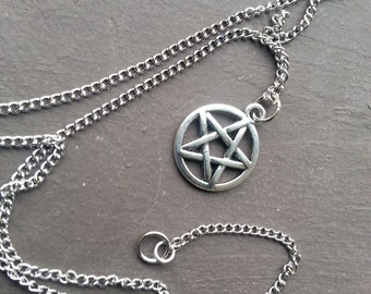 Pentagram Necklace | Stainless Steel
