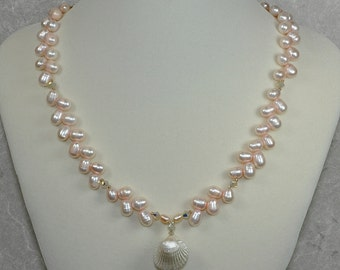 Cherish freshwater pearl necklace