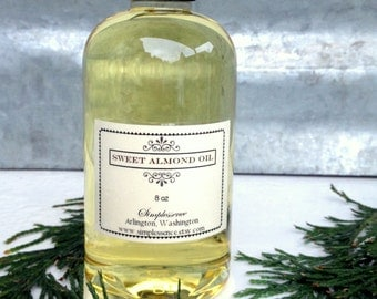 Sweet Almond Oil 8 oz