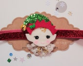 Elf - Santa's Little Helper Headband  - Christmas, Little Magic Pieces