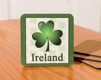 Ireland/Irish Coasters - set of 4